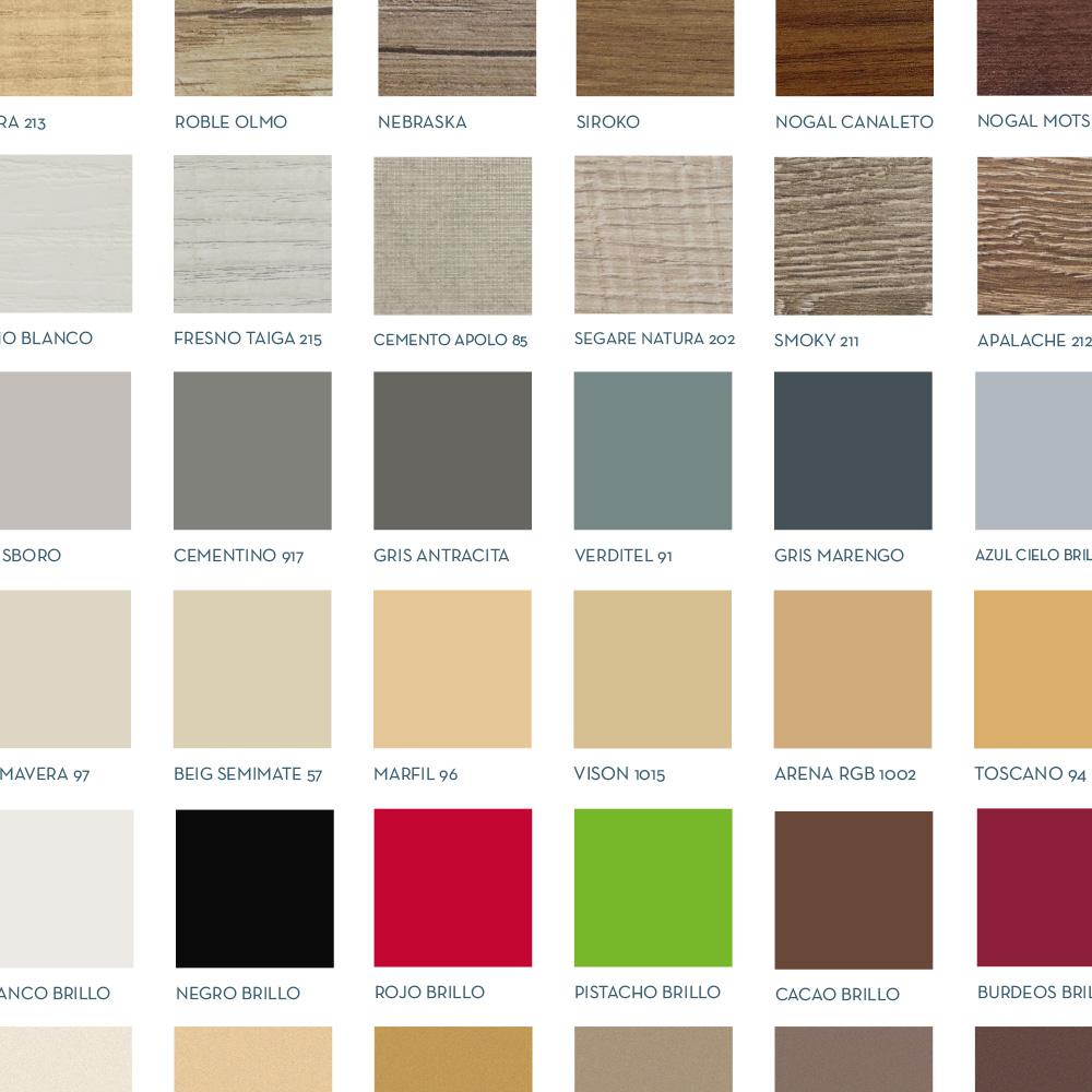 Muestrario de acabados y colores socimobel fabricantes de muebles de ba o mobiliario de ba o - Catalogo pinturas bruguer ...